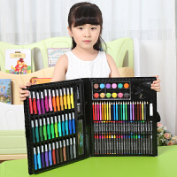儿童画笔套装礼盒美术绘画水彩笔蜡笔画画36色彩笔生日礼物幼儿园