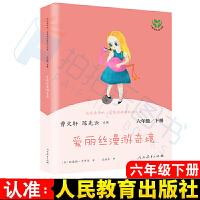爱丽丝漫游奇境人民教育出版社曹文轩陈先云快乐读书吧六年级下册课外阅读推荐书籍必读书
