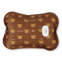 轻松熊充电热水袋暖手宝电热宝电暖宝电暖袋暖水袋防爆已注水