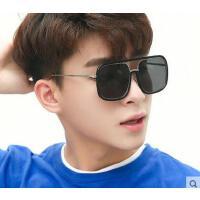 复古个性大框方形太阳镜 新款个性黑超遮阳眼镜潮人 男女时尚街拍墨镜