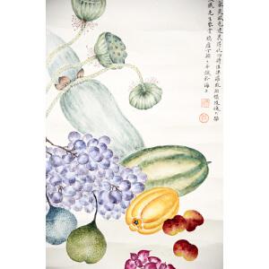 H丁辅之  蔬果图  66*35