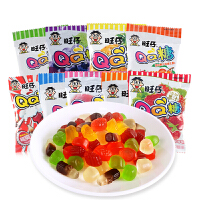 旺旺旺仔QQ糖23g*20包 水果汁软糖橡皮糖 儿童糖果零食品小吃批发