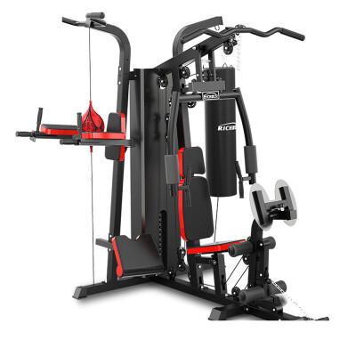 家用组合大型运动多功能健身器材 力量训练器械三人站综合训练器 发货周期:一般在付款后2-90天左右发货,具体发货时间请以与客服协商的时间为准