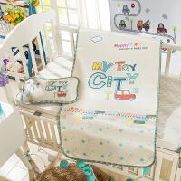 晚歌婴儿床凉席夏季儿童凉席子单席/两件套摇篮床凉席垫子60*120cm