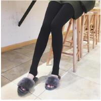 2018春装新款百搭修身显瘦外穿加厚保暖连裤袜女冬季打底裤