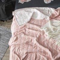 棉六层纱布毛巾被单双人棉夏凉被午睡婴儿童休闲空调盖毯夏季 +枕套2个