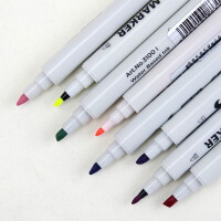 Sta斯塔3100 水性双头马克笔 漫画设计手绘上色 36色套装 手绘上色笔