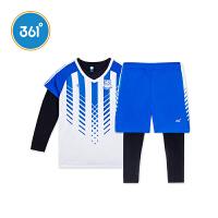 【折后�B券�A估�r:50.8】【�下同款】361度童�b 男童足球套�b秋季新款�和���服�L袖 K51831461