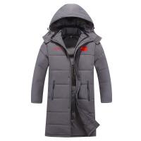 羽绒服/冬季新款棉衣国家队训练运动棉衣加厚款大衣外套连帽保暖 X
