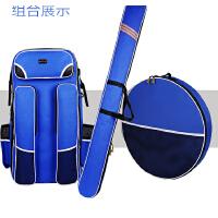 大容量多功能钓椅包加厚鱼竿包渔具包双肩包防水钓鱼包背包鱼护包