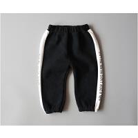 童装男宝宝冬装裤子0-1-2-3岁男童哈伦裤婴儿长裤可开裆