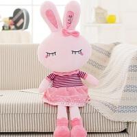 可爱兔子毛绒玩具小白兔公仔布娃娃女孩玩偶抱枕儿童女生生日礼物抖音