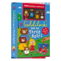 Play House Goldilocks and the Three Bears 经典童话启蒙游戏盒套装 英文原版进
