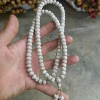 海南星月菩提原子108颗毛感料干磨高密正月男女手链项链素珠手串