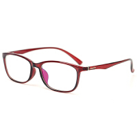 TR90全框运动眼镜架超轻眼镜框黑框男女小款防滑远视平镜配镜