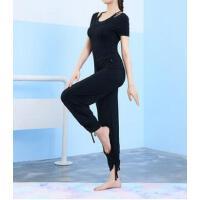 瑜伽服套装简约显瘦新款短袖背心吊带舞蹈服居家服专业瑜伽