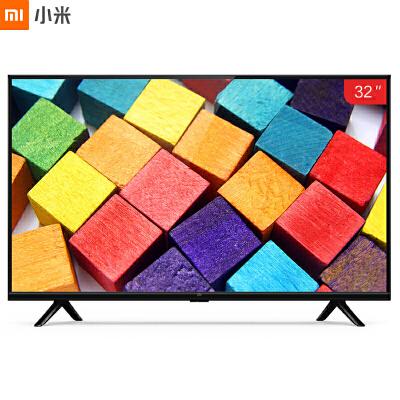小米(MI)小米电视4A L32M5-AZ 32英寸 1GB+4GB 四核64位处理器 高清液晶智能网络平板电视机(黑色)家电自营