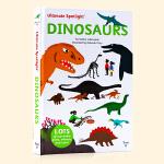 恐龙 Ultimate Spotlight Dinosaurs 英文原版 精装立体翻翻机关书 恐龙知识认知启蒙 儿童趣