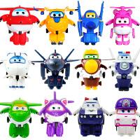 奥迪双钻超级飞侠7玩具套装全套乐迪小爱圆圆 迷你小号变形机器人
