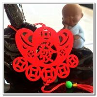 春节小灯笼挂饰圣诞新年节日盆景场景布置小红灯笼串装饰用品挂件
