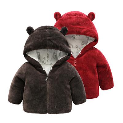 女婴儿衣服冬装外套男宝宝加厚冬季0岁1珊瑚绒棉衣 发货周期:一般在付款后2-90天左右发货,具体发货时间请以与客服协商的时间为准