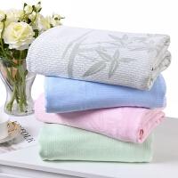 竹纤维毛巾被 双人空调毯单人冰丝毯婴儿童夏凉被夏季薄毯子盖毯