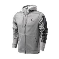 NIKE耐克男装夹克2017新款乔丹篮球针织保暖运动连帽外套861468