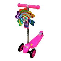 休闲户外运动脚踏三轮儿童闪光滑板车   宝宝踏板滑滑车