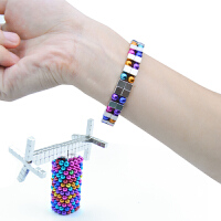 巴克球方形磁力球方块5mm216颗魔方磁铁益智解压玩具