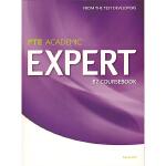 培生英文原版进口 PTE专属教材 Expert B2 Coursebook 高级