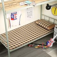 大学生0.9m宿舍凉席1.5上下铺单人冰丝席寝室1.2m折叠凉席0.8 温岭水立方(含枕套)