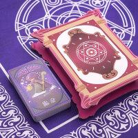 塔罗牌塑料卡牌全套儿童命运魔法占卜牌齐娜塔罗牌儿童塔罗