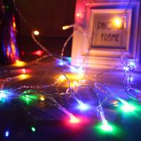 新年装饰节日闪灯串灯彩灯装饰球带结婚婚庆情人节场景布置装饰