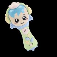 儿童宝宝唱歌麦克风卡拉ok唱歌玩具婴幼儿扩音唱歌机无线小话筒 6319录音声光话筒