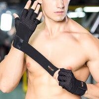 健身手套 运动夏季薄款男女耐磨防滑护腕哑铃器械训练半指房