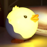 充电生日礼物卧室床头灯喂奶小台灯创意送女友led睡眠小鸭小夜灯