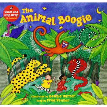 The Animal Boogie (A Barefoot Singalong)动物摇滚(书+CD)ISBN9781846866203