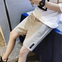运动短裤男夏天休闲5五分裤子男士薄款速干裤中裤宽松潮流沙滩裤【潮流】【超火】