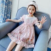 女童连衣裙夏装时尚童装女孩公主裙儿童裙子夏