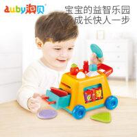 澳贝手指总动员婴儿宝宝锻炼手眼协调听音乐认数字辨颜色早教玩具
