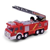 儿童电动玩具汽车 仿真喷水音乐消防车玩具