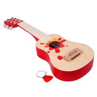六弦小吉他幼儿乐器木制儿童吉他玩具可弹奏