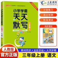 小学学霸天天默写三年级下册语文人教部编版2021春新版