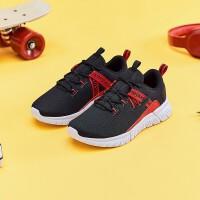 安踏童鞋 男童多层网面易弯折科技中大童男童6岁以上小学体育课训练跑鞋 A33915509