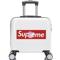 儿童行李箱定制logo万向轮卡通拉杆箱孩16寸可爱宝宝旅行箱包