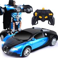 儿童玩具车男孩赛车模型遥控车变形机器人战神汽车人