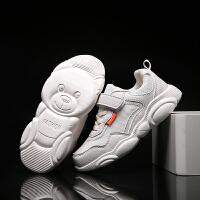 男童鞋子春款新款中大童网面春秋款儿童休闲小白透气运动潮鞋