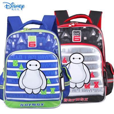Disney/迪士尼 大白小学生1-4年级儿童卡通双肩减负书包IB0022
