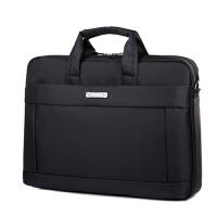 mh笔记本电脑包单肩手提女男14寸15.6寸17寸 黑色【标准版】 13寸