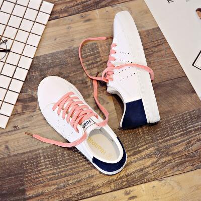 环球  小白鞋2017新款百搭韩版运动鞋休闲板鞋
